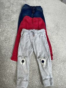 Boys 2-3 Jeans Trousers Joggers Chino. Jojo Maman Bebe, Next, Mothercare. Navy