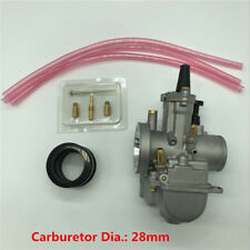 28mm Racing Flat Slide Carburetor for Scooter KTM ATV 80cc 100cc 125cc 250 350cc