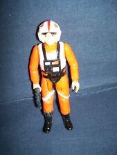 Star War X-Wing Fighter Luke Skywalker Action Figure Kenner 1978 with Gun Used