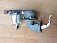 Vintage Carter Carburetor 734 Fuel Pump with Glass Bowl Filter