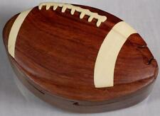 Wooden Puzzle Box- Football-FREE SHIPPING