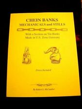 VINTAGE TIN J.CHEIN MECHANICAL & STILL BANK BOOK U.S.ZONE OUT-OF-PRINT