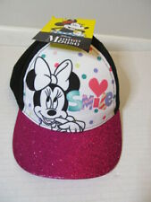 """Disney Minnie Mouse """"Smile"""" Girls Hat"""