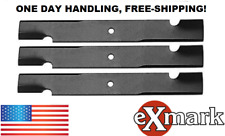 "Exmark 52"" Mower Deck Blades 1-303283 103-6584 303283 3 BLADES DELIVERED FREE"