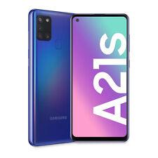 Smartphone Samsung Galaxy A21s Blu 128 GB Dual Sim Fotocamera 48 MP SM-