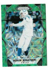 Adam Vinatieri 2017 Panini Prizm #156 Green Scope /99 Indianapolis Colts