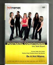 TEDDI BRYANT Hot Mamas Exercise (2008, DVD) BRAND NEW: Postnatal Conditioning