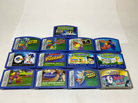 Mixed Lot of 13Leap Frog Leapster Games Learning Cartridges Disney Sonic Nemo