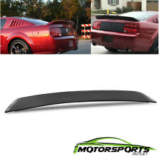 For 2005-2009 Ford Mustang GT500 Ducktail Style Black Rear Trunk Spoiler