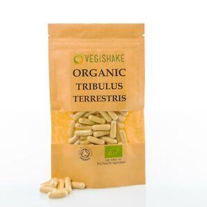 Organic Tribulus Terrestris Testosterones Gokhru Energy Boost HPMC Vegan Kosher