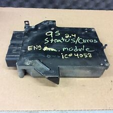 95 Dodge Stratus Cirrus 2.4L 4 Cyl ECU ECM PCM Engine Computer 04606125 125 C