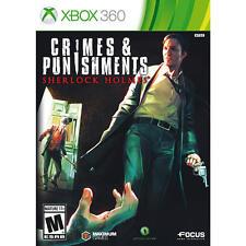 Sherlock Holmes: Crimes & and Punishments USED SEALED (Microsoft Xbox 360)
