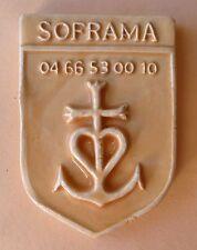 Fève Plaque de Gâteau Décoration du MH 2013 - Ecusson pour la Soframa