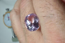 KUNZITE NATURALE - CT 11,00 VVS PINK COLOR  OVAL CUT ORIGIN AFGHANISTAN GOOD