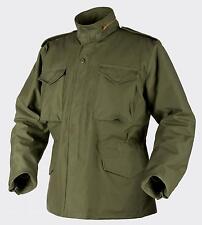 HELIKON TEX US M65 Jacke Army Outdoor Parka oliv mit Futter MR Medium Regular