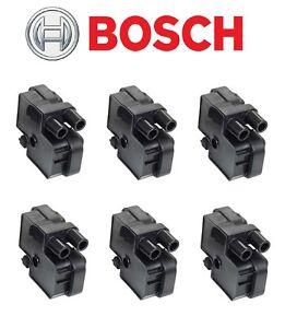 For Mercedes 6 pcs. Ignition Coil Set-BOSCH-0221503035/00107-NEW OEM
