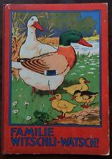 Bilderbuch. - Familie Witschli-Watsch!. Löwensohn. 1920