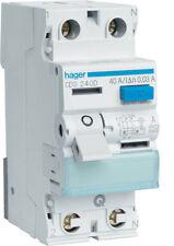 Hager CDS240D Fi-Schutzschalter 2P 40A 30mA A QC