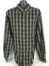 ROUNDTREE & YORKE Classics Mens Multi Color Long Sleeve Plaid Shirt Tag Size 4XT