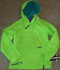 NEW Boys or Girls Unisex Columbia Jacket XL Green Grand Cache Anorak Windbreaker