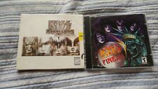 KISS PC VIDEO GAME LOT! PSYCHO CIRCUS THE NIGHTMARE CHILD & PINBALL!