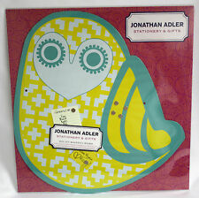 Jonathan Adler Magnetic Board Die Cut Owl Stationery and Gifts Messae Metal Nip