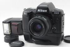 【EXC+++++】Nikon F90X Body+Battery Grip MB-10+Nikon AF 35-75mm F3.3-4.5+Flash