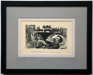 Original Wood Engraving by José Posada; Instituto Nacional de Belle Artes, 1963