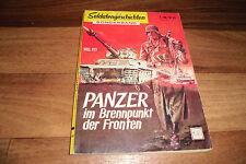 SOLDATENGESCHICHTEN Sonderband # 43 -- PANZER im BRENNPUNKT der FRONTEN