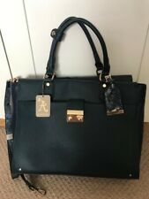 Accessorize Navy And Green Tote Bag