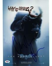 Christian Bale Signed The Dark Knight Autographed 11x14 Photo PSA/DNA #AF70097