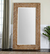 Oversized Dressing Leaner Large Wood Wall Floor Mirror Xl 74�
