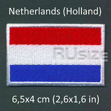 NETHERLANDS Country Flag Embroidered PATCH 6,5х4cm Sewn/ironed on Badge Holland