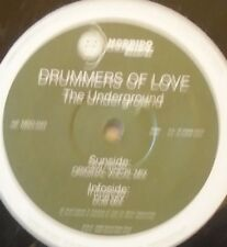 """DRUMMERS OF LOVE - The Underground ~ 12"""" Single"""