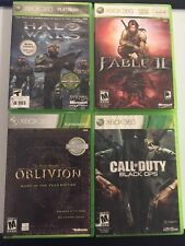 Lot Of 4 Xbox 360 & Xbox One Backwards Compatible Games Halo Wars,Black Ops++