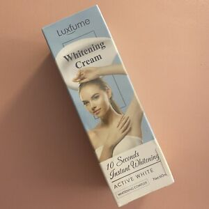 Luxfume 10 Seconds Instant Whitening Cream Free Shipping 60ml Exp 07/2023