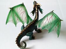 Schleich Mythical Winged Green Dragon 70033 Finely Detailed Figure Retired RARE