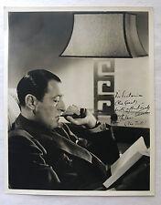 ORIGINAL ARTHUR TREACHER AUTOGRAPH SIGNED 8x10 1930 WARDROBE MISTRESS COLLECTION