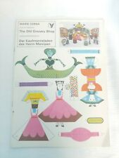 German Paper Doll The Old Grocery Shop Uncut