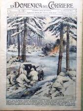 La Domenica del Corriere 16 Dicembre 1939 Duce Inventori Finlandia Sottomarini