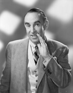"""CA278-5  WALTER O'KEEFE  8""""x10"""" Original Negative  TV HOST """"DOUBLE OR NOTHING"""""""