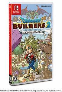 Nintendo Switch Dragon Quest Builders 2 DQ Japan