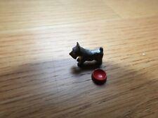 Dollhouse Dog and Dog Bowl