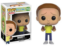 "RICK & MORTY - MORTY 3.75"" POP VINYL FIGURE FUNKO 113 UK SELLER"