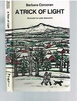 A Trick Of Light by Barbara Corcoran 1972 1st Ed. Rare Book! $