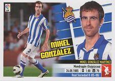 N°05 MIKEL GONZALEZ # ESPANA REAL SOCIEDAD STICKER PANINI ESTE LIGA 2014