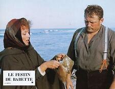 STEPHANE AUDRAN  LE FESTIN DE BABETTE 1987 VINTAGE PHOTO N°9  BABETTE'S FEAST