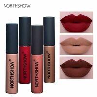 NORTHSHOW Long Lasting Matte Liquid Lipstick Waterproof Matte Liquid Lip Gloss P