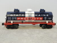 MTH 30-73384 Railking State OF Maine 3 Dome Tank Car