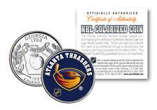 ATLANTA THRASHERS NHL Hockey Georgia Statehood Quarter US Colorize Coin LICENSED